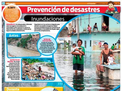 Prevención de desastres: inundaciones | Escolar | Series ...