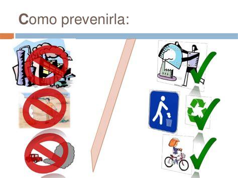 Prevención de la contaminación ambiental