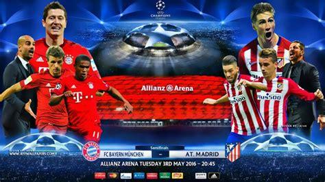 Previa Bayern Munich Atlético Madrid: Semis Champions 2016 ...