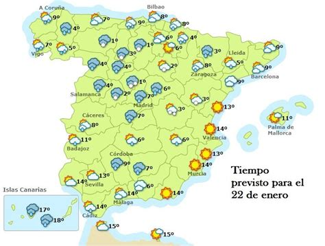 previsión 22 enero 13 | Galicia | Pinterest