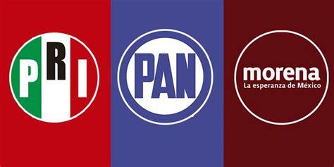 PRI PAN Morena