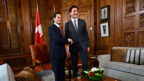 Prime Minister Justin Trudeau meets with Mexican President ...