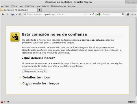 Primer acceso al correo   Correo electrónico   Proyectos ...