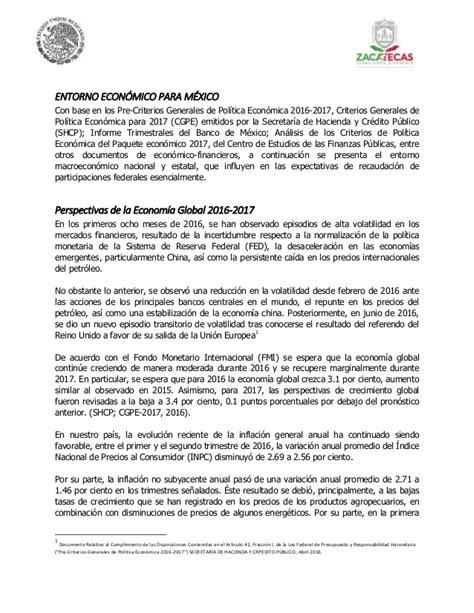 Primer Paquete Económico 2017 Zacatecas - 1. ley de ...