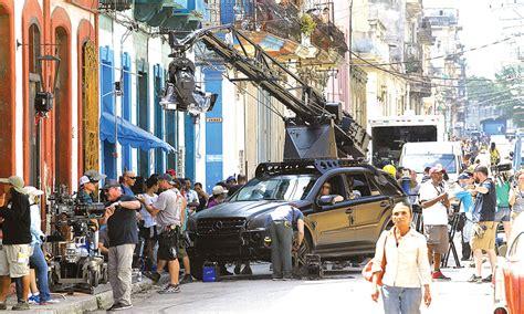Primer video de Rapido y Furioso 8 en las calles de Cuba ...