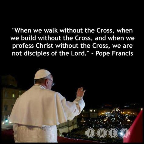 Primera homilía del Papa Francisco. – Milicia de Santa María