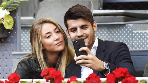 Primera imagen de Álvaro Morata y Alice Campello como ...