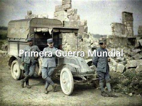 Primera y Segunda Guerra mundiales. Guerra fría