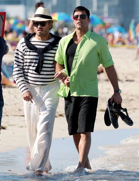 Primeras escenas de Ricky Martin en serie sobre Versace ...