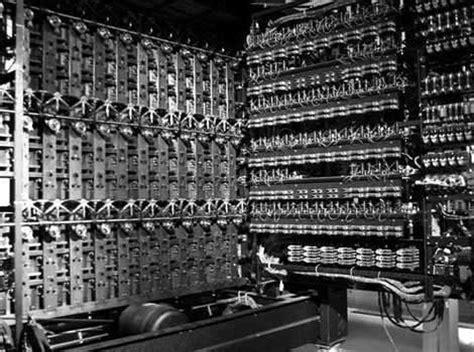 Primeros Ordenadores Electrónicos Evolución Histórica