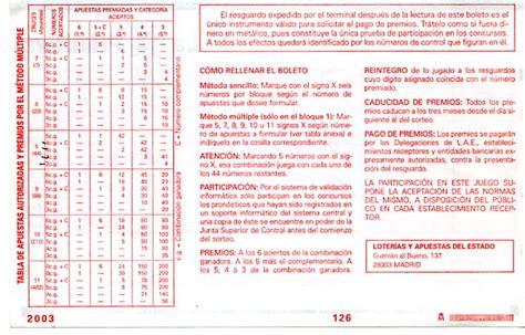 PRIMITIVA | Jugar a la Primitiva | Loteria GATO NEGRO DE ...