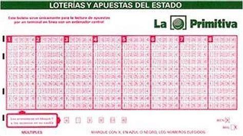 Primitiva: resultados del jueves 17 de marzo . diariovasco.com