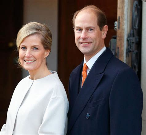 Prince Edward and Sophie centre stage after Prince Philip ...