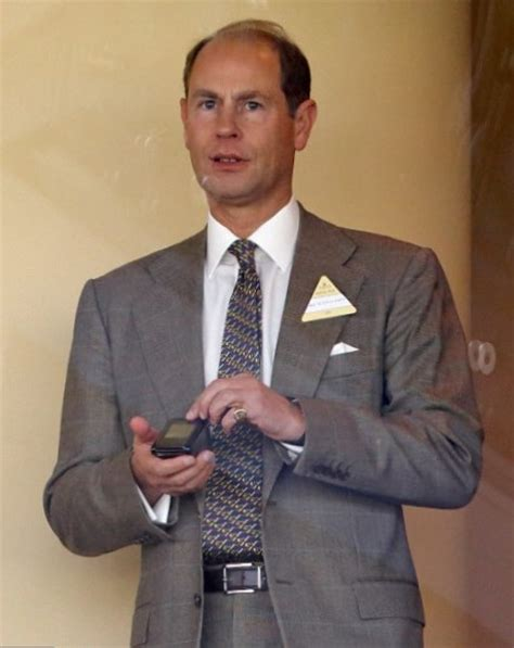 Prince Edward, Earl of Wessex height, weight, age