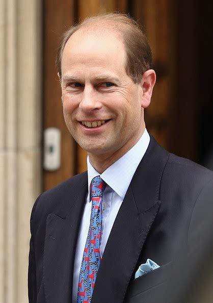 Prince Edward Photos Photos - Prince Edward Visits His ...