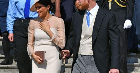 Prince Harry et Meghan de Sussex : 1re sortie mariés ...
