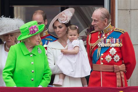 Princess Charlotte makes her Trooping the Colour debut ...
