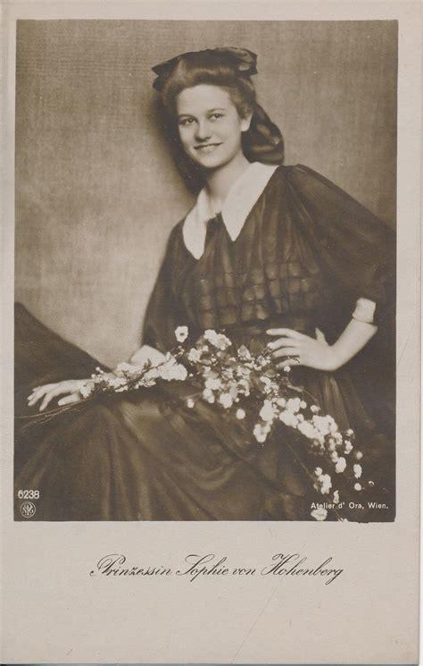 Princess Sophie of Hohenberg   Wikipedia