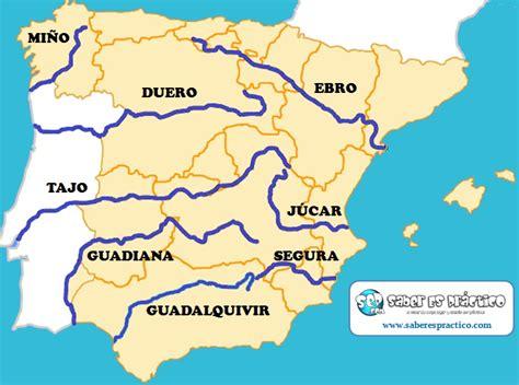 Principales ríos de España  con mapa  | Saber Es Práctico