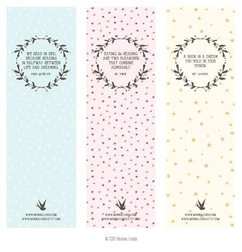 Printable Bookmarks by Menina Lisboa   free goodies ...