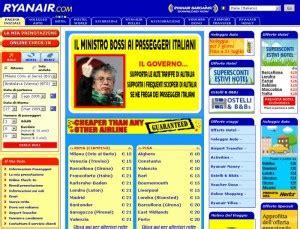 Pro-fumo — Ryanair - Alitalia