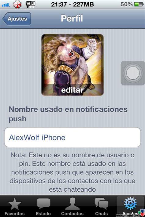 [PROBLEMA] whatsapp foto de perfil