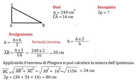 Problemi sul teorema di Pitagora