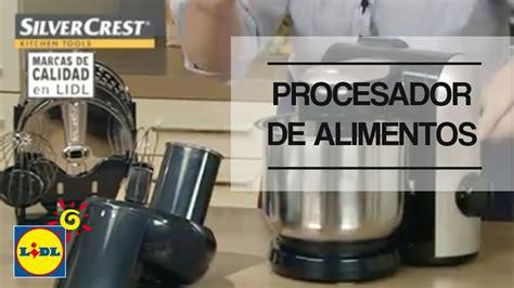 Procesador de alimentos   Lidl España   YouTube