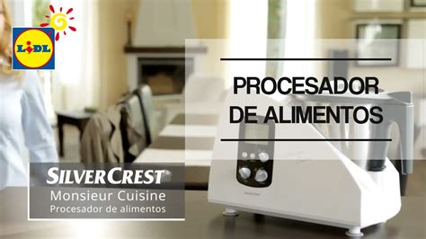 Procesador De Alimentos Monsieur Cuisine Silvercrest   YouTube