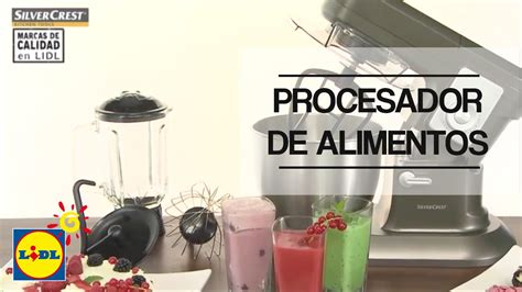 Procesador De Alimentos Silvercrest   YouTube