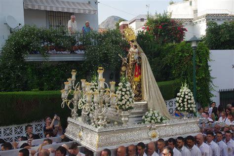 Procesión de la Virgen del Carmen en Pedregalejo y El Palo ...