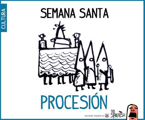 Procesión de semana Santa. Fiestas de España, tradición y ...