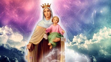 Programa novena a la Virgen del Carmen | Colegio del ...