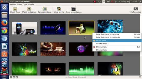 Programa para crear presentaciones de imagenes + musica de ...