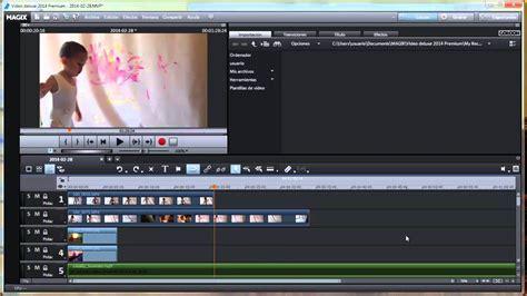 Programa para editar videos, Insertar un video o imágenes ...