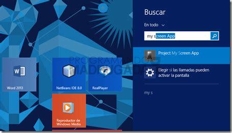 Programando de Madrugada: Proyectar pantalla Windows Phone ...