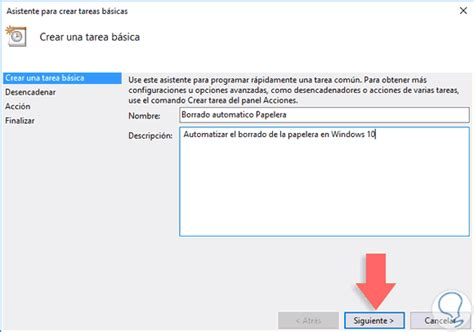 Programar auto borrar Papelera reciclaje en Windows 10 ...