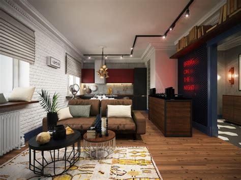 [Project] Apartamento de diseño tipo loft para un soltero ...