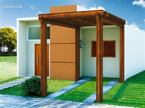 Projeto de casa pequena e cheia de economia | CASA.COM.BR