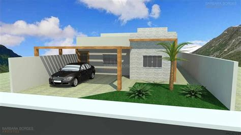 Projetos de Casas Pequenas| Barbara Borges Projetos 3D
