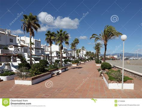Promenade In La Duquesa, Spain Stock Photo - Image: 27160690