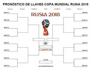 Pronóstico de Llaves Mundial Rusia 2018 - Para Imprimir ...