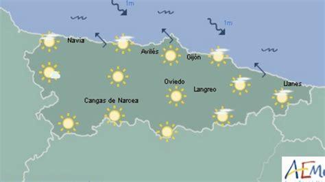 Pronóstico del tiempo en Asturias 27 de noviembre AEMET ...