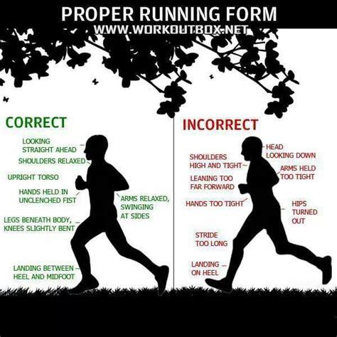 Proper running form | Running Tips | Pinterest