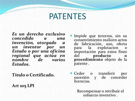 Propiedad intelectual, Registro de patentes, Marcas y ...