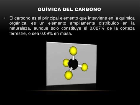 Propiedades físicas y químicas del carbono y el hidrógeno