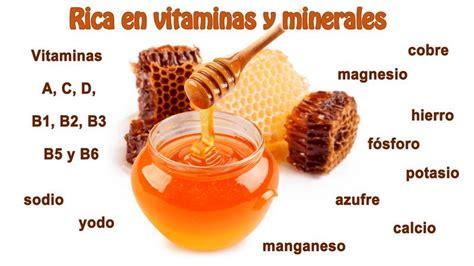Propiedades y beneficios de la miel   Salud