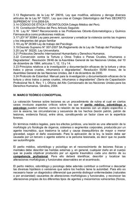 Propuesta de reglamento de lesiones en la clinica forense