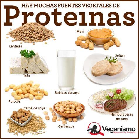 proteinas en la dieta vegana vegetariana mitos y ...