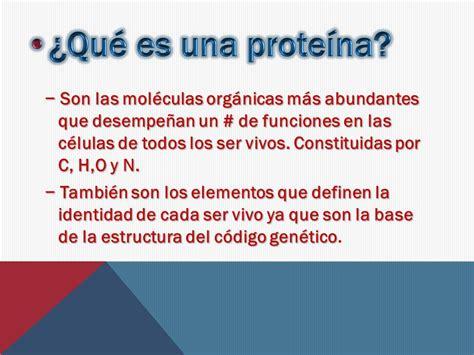 Proteínas y material genético.   ppt video online descargar